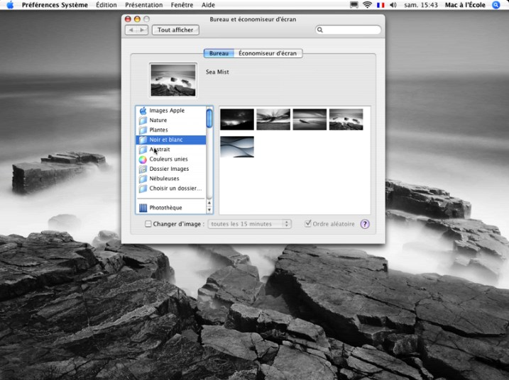 Changer le fond d écran de son bureau mac os x